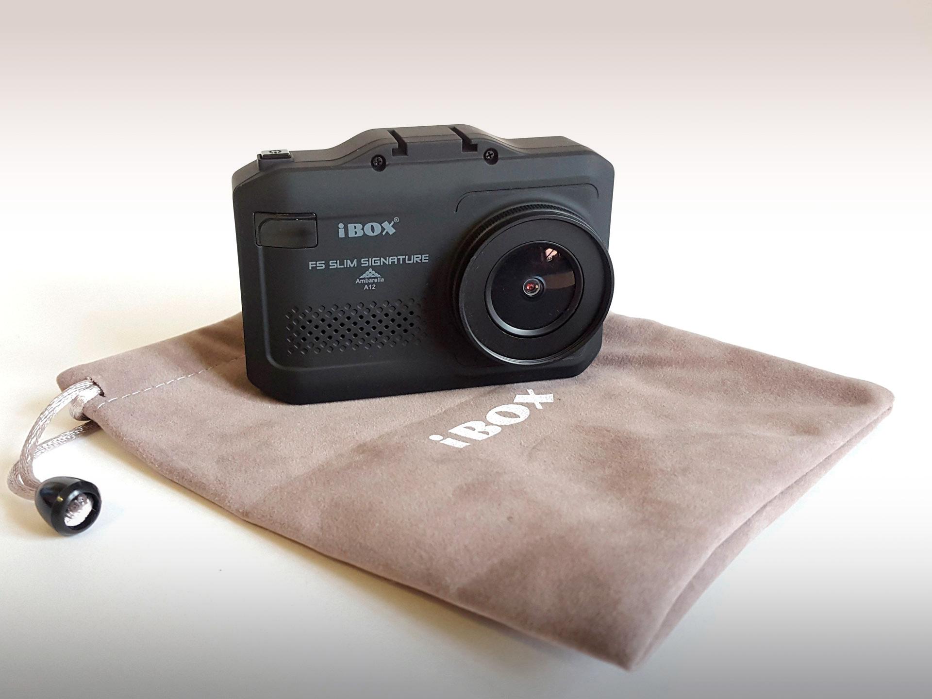 Гаджет с моноклем: обзор радар-детектора/видеорегистратора iBOX F5 SLIM SIGNATURE A12