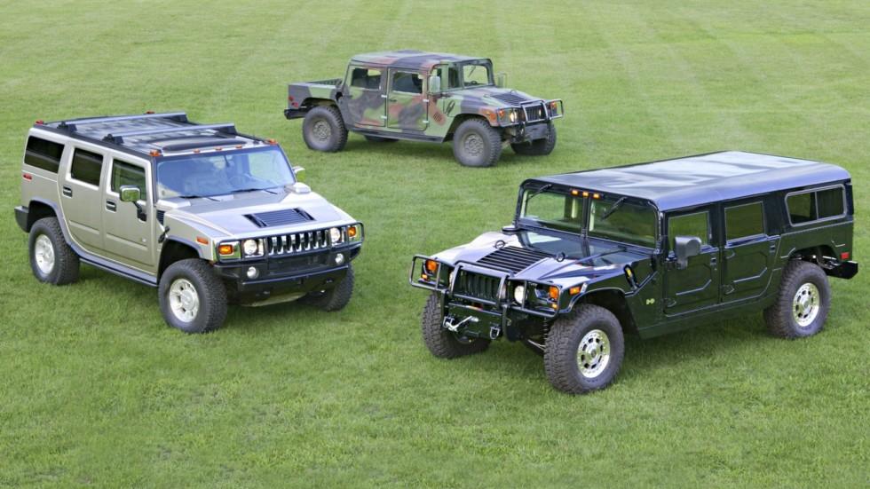 Hummer H1, Hummer H2, HMMWV M1038