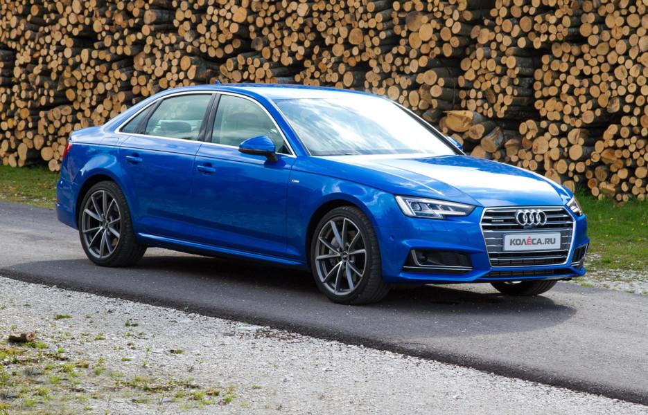 тест драйв новой Audi A4 B9 ауди а4 б9 колесару