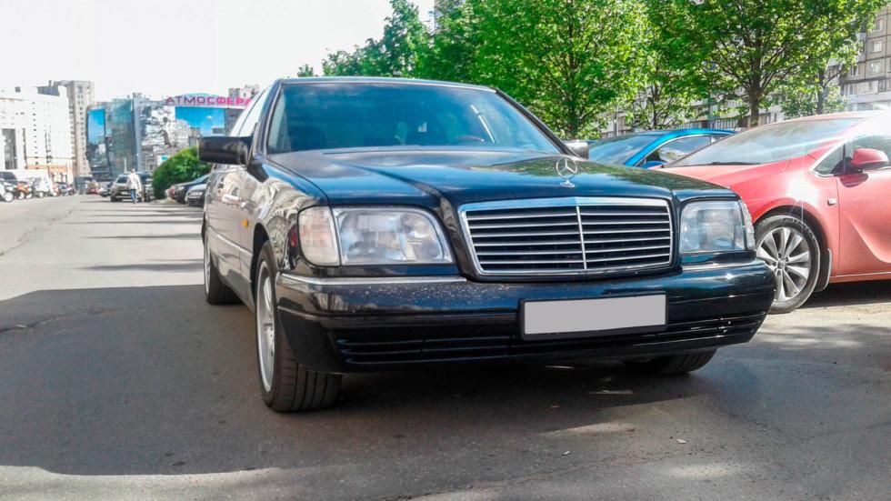 Mercedes-Benz S-Class W140 вид спереди