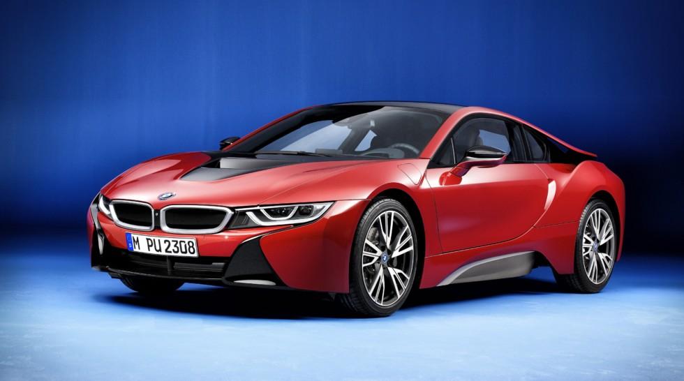BMW i8 Protonic Red Edition в России
