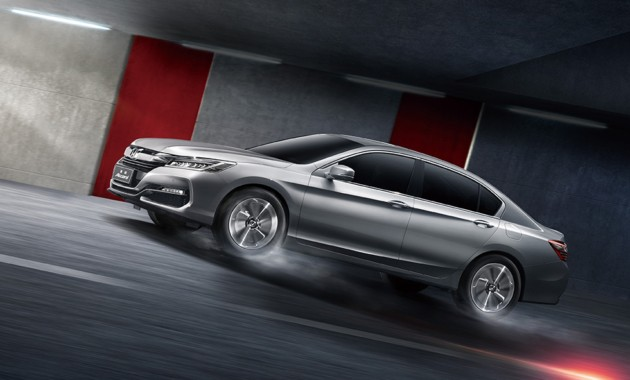 Обновленный Honda Accord выходит на азиатский рынок