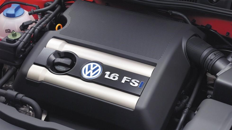 4Под капотом Volkswagen Golf 1.6 FSI 3-door (Typ 1J) '2002–03