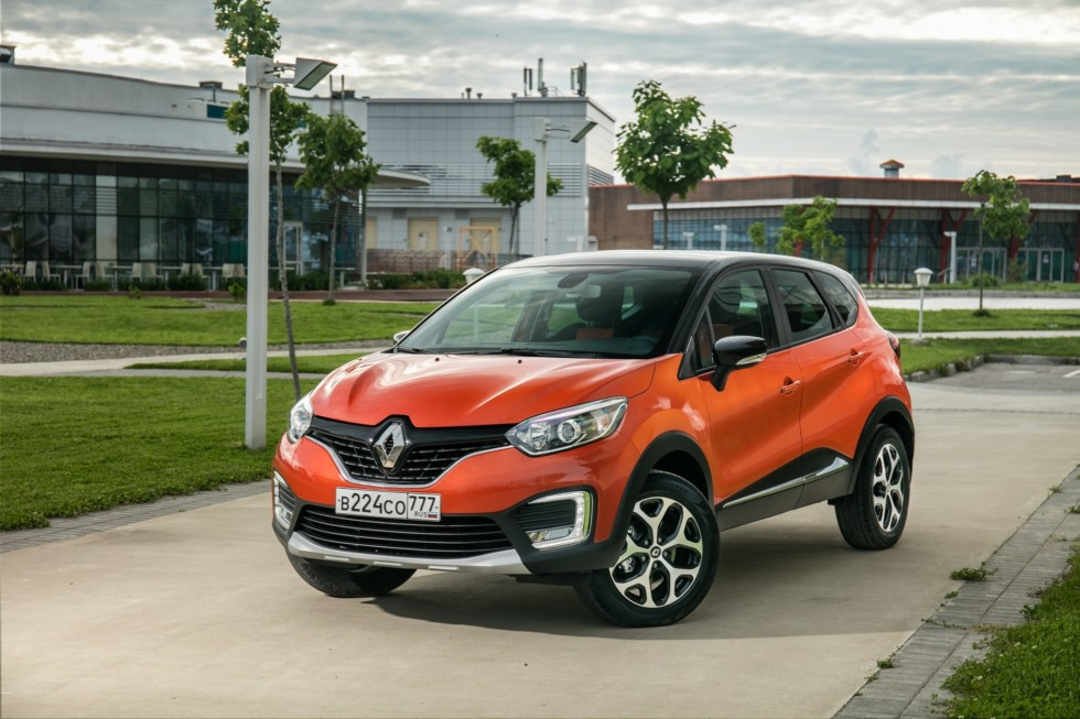 Цены и комплектации Renault Kaptur в России