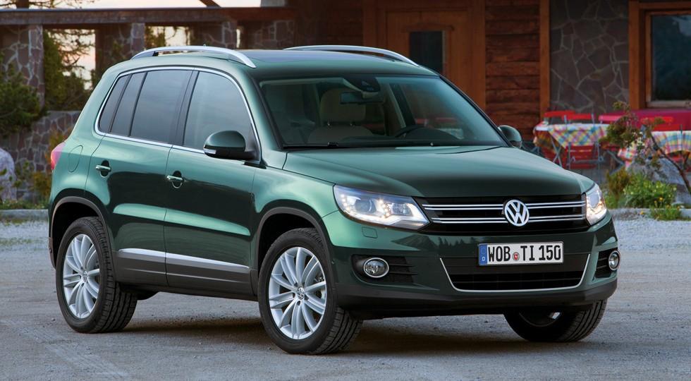 На фото: Volkswagen Tiguan