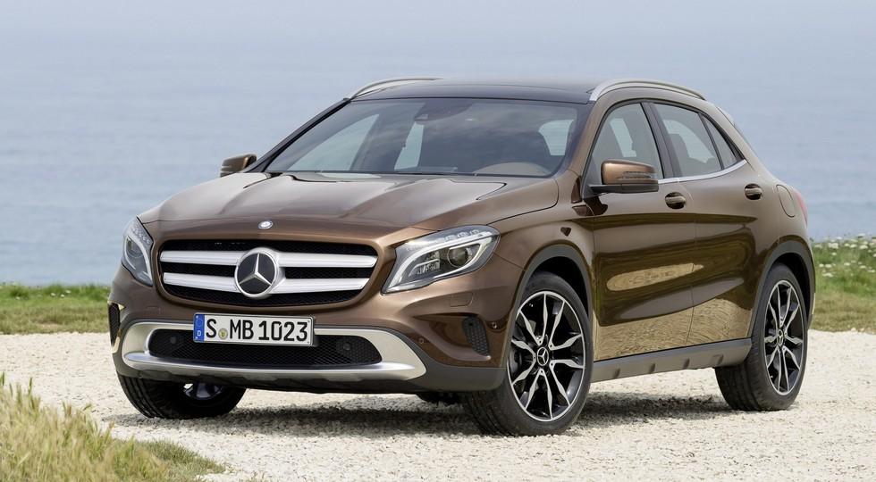 На фото: Mercedes-Benz GLA-Class
