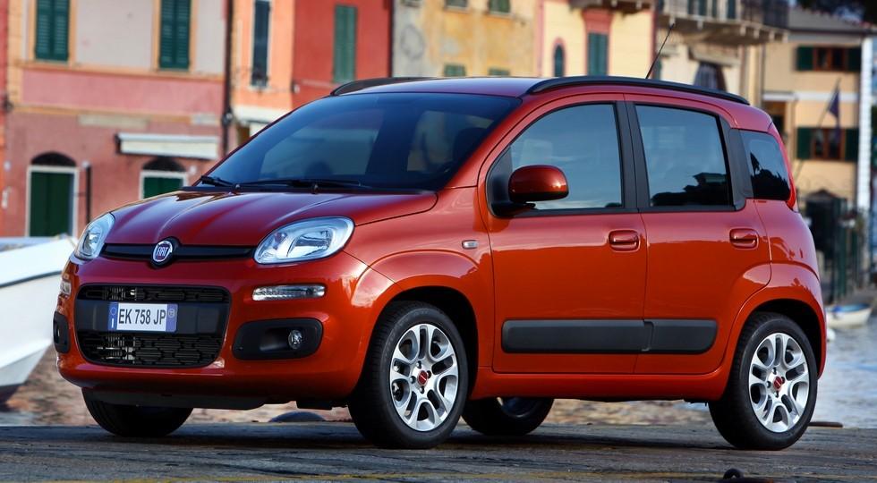 На фото: Fiat Panda