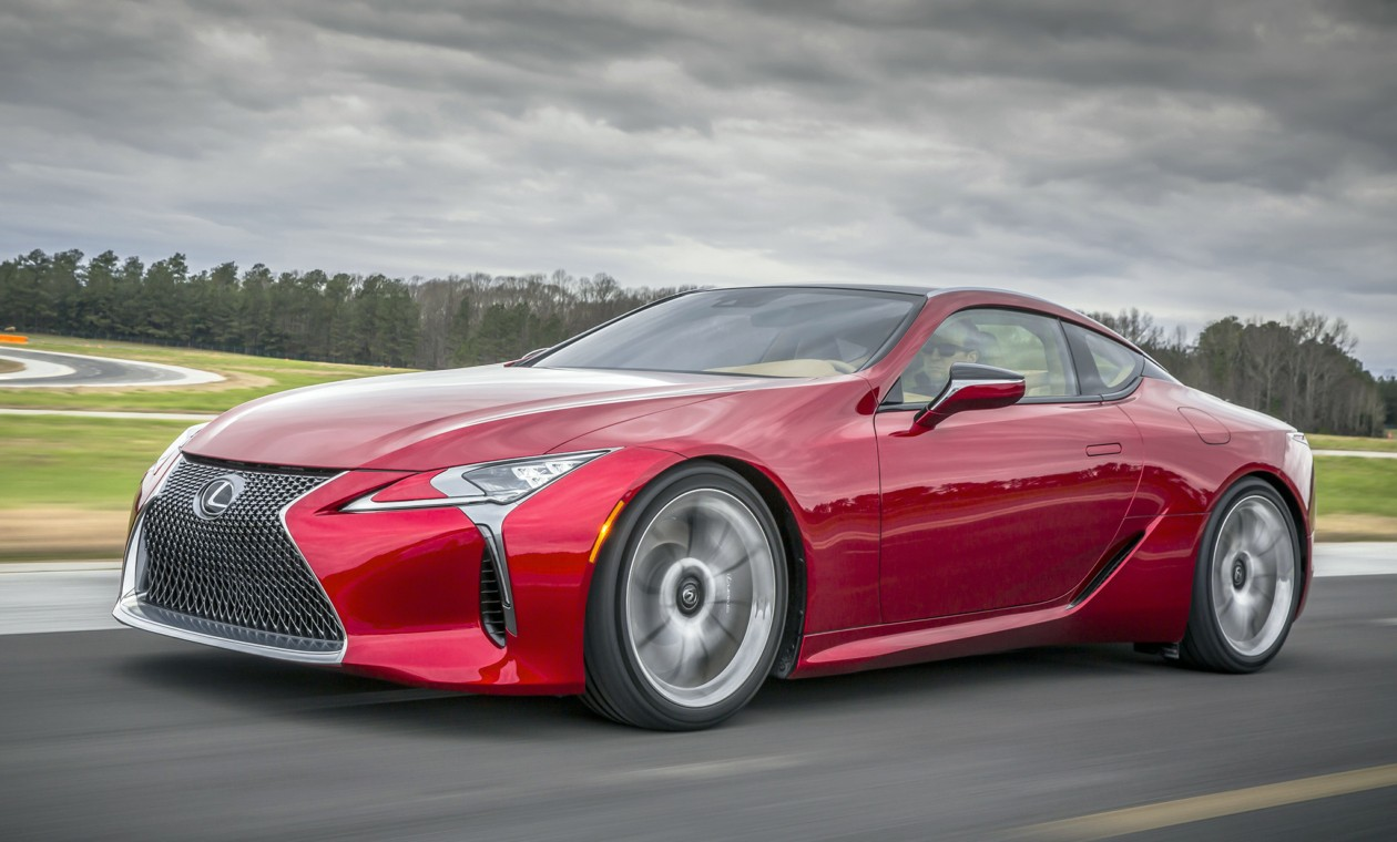 23ИюнРоссийские продажи Lexus LC начнутся в следующем году