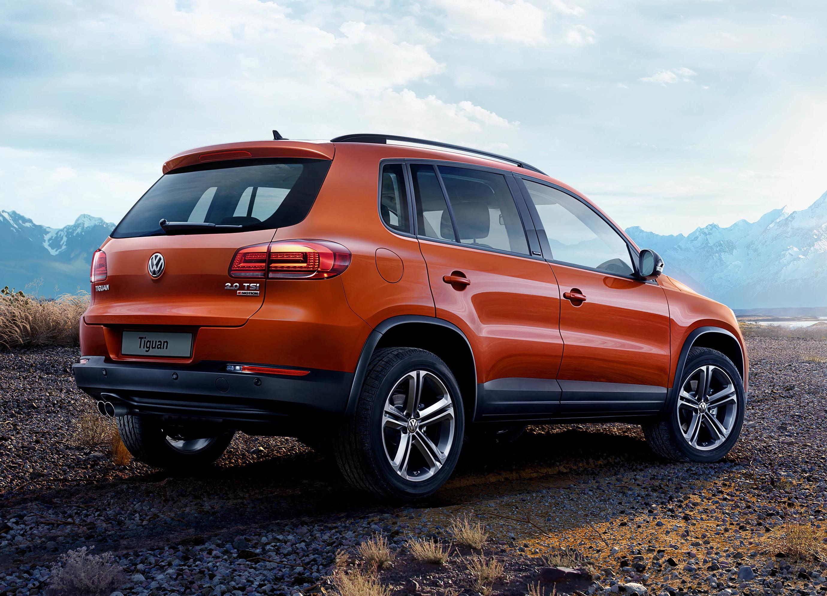 В Российской Федерации стартовали продажи VW Tiguan Allstar