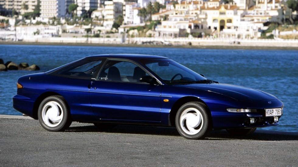 На фото: Ford Probe EU-spec (GE) '1992–97с