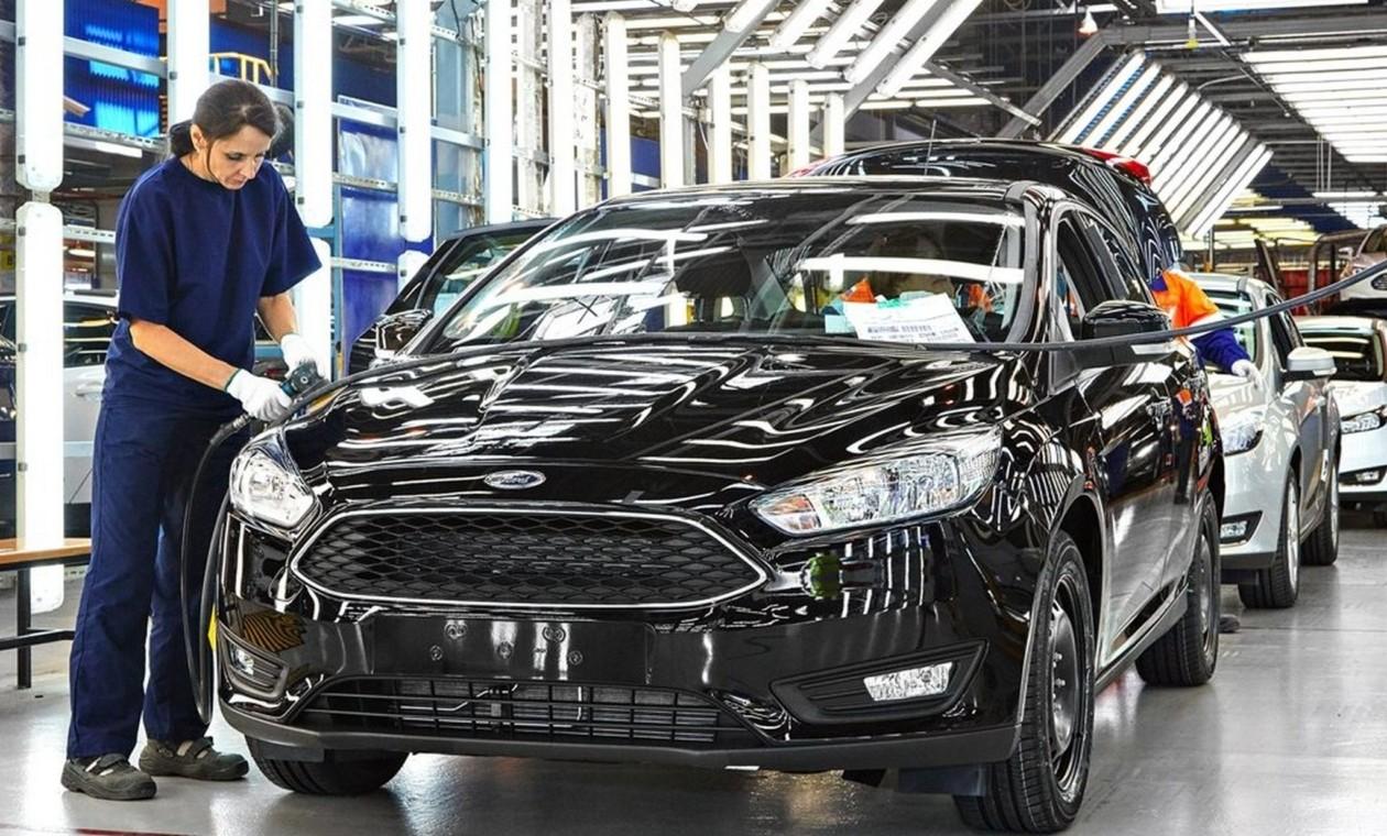 Завод Форд  воВсеволжске остановил  производство до20июня