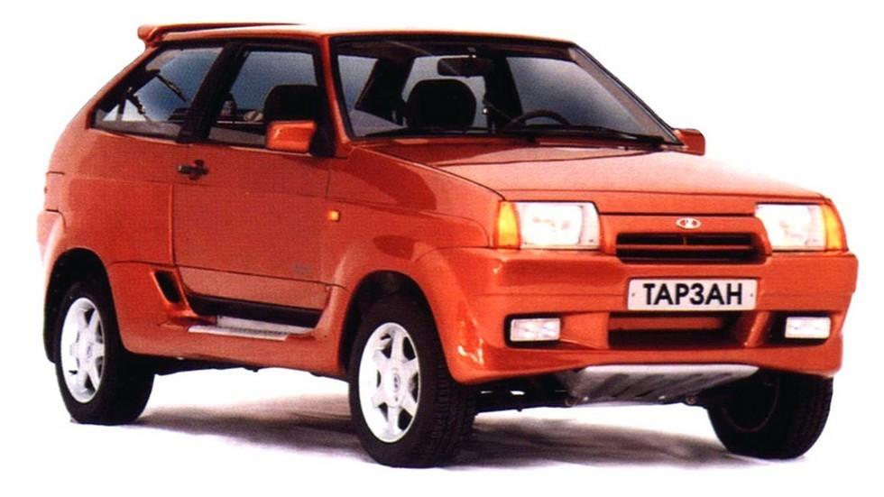 7ВАЗ-21083-34 Тарзан