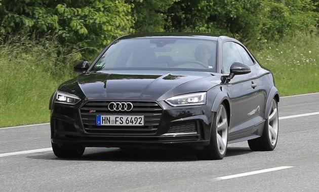 Audi RS5 2018 модельного года засветился на дорожных испытаниях