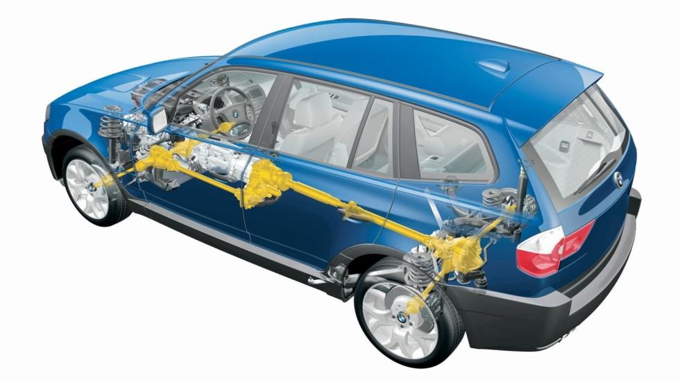 BMW X3 2.5i (E83) '2003–06подв