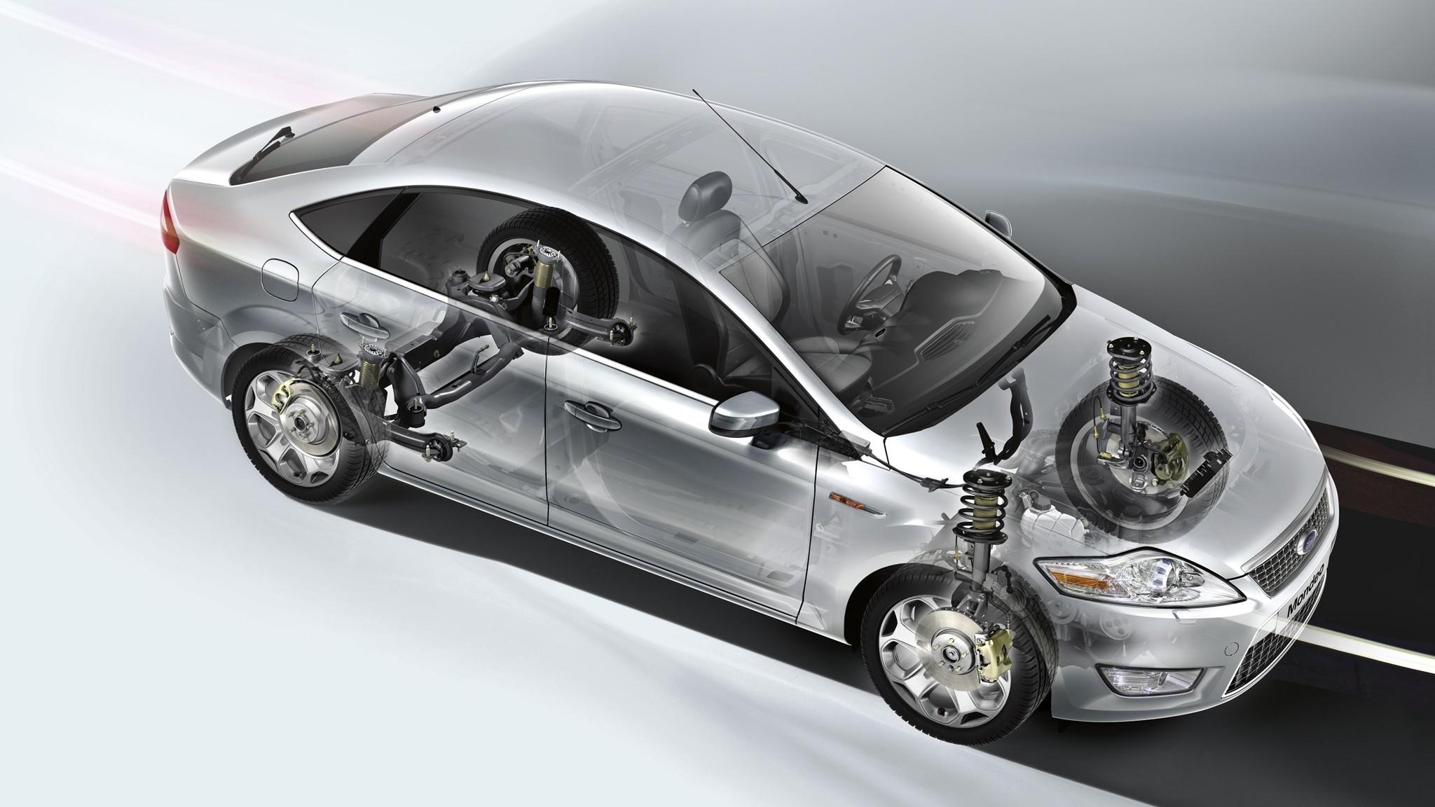 Состояние рулевой и ходовой Форд Мондео