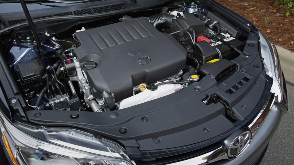 Под капотом 2015–н.в. Toyota Camry XLE