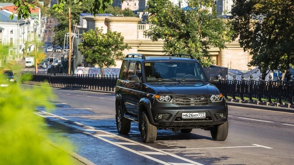 На фото: УАЗ Патриот 2016 м.г.