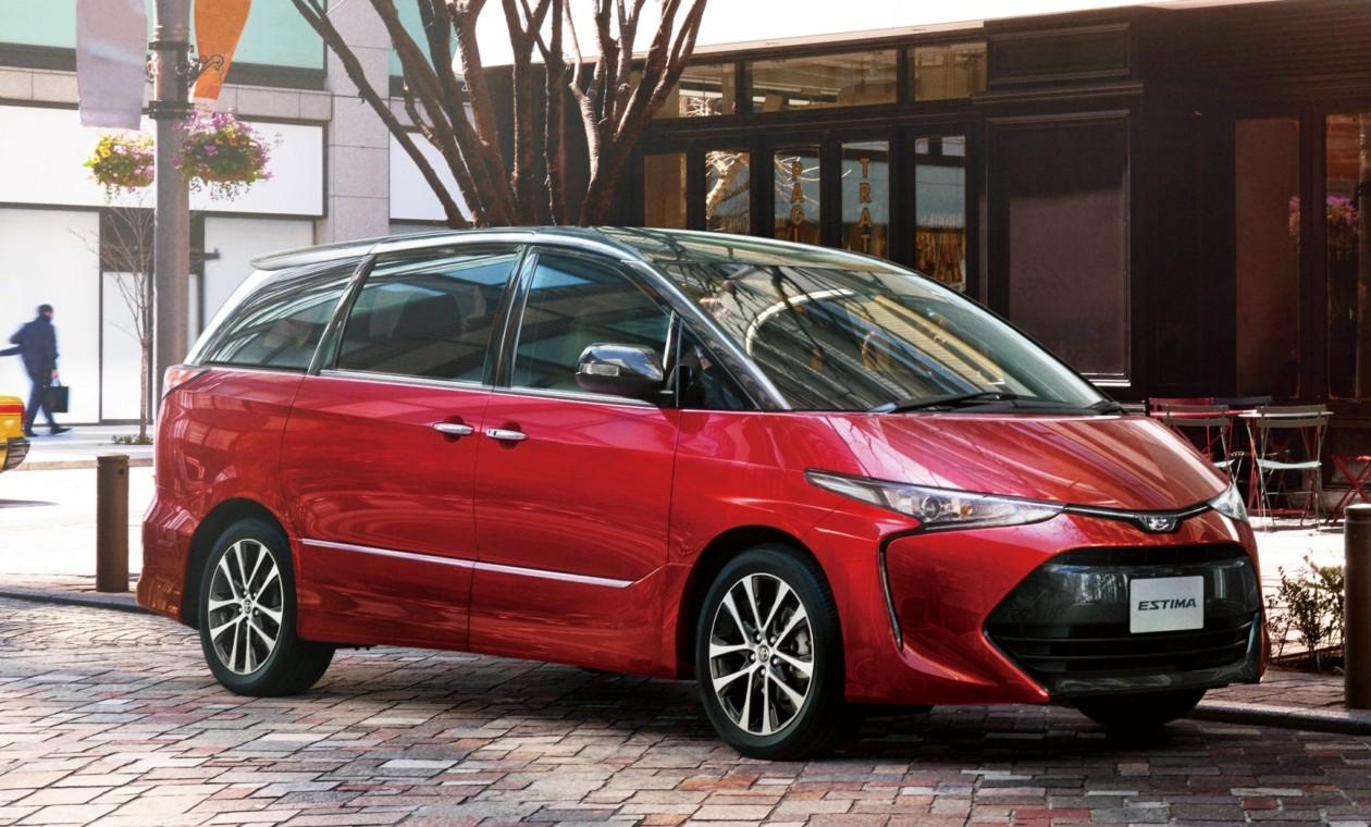 06ИюнКомпания Toyota обновила минивэн Estima