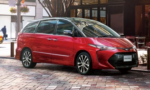 Toyota показала обновленный минивэн Estima