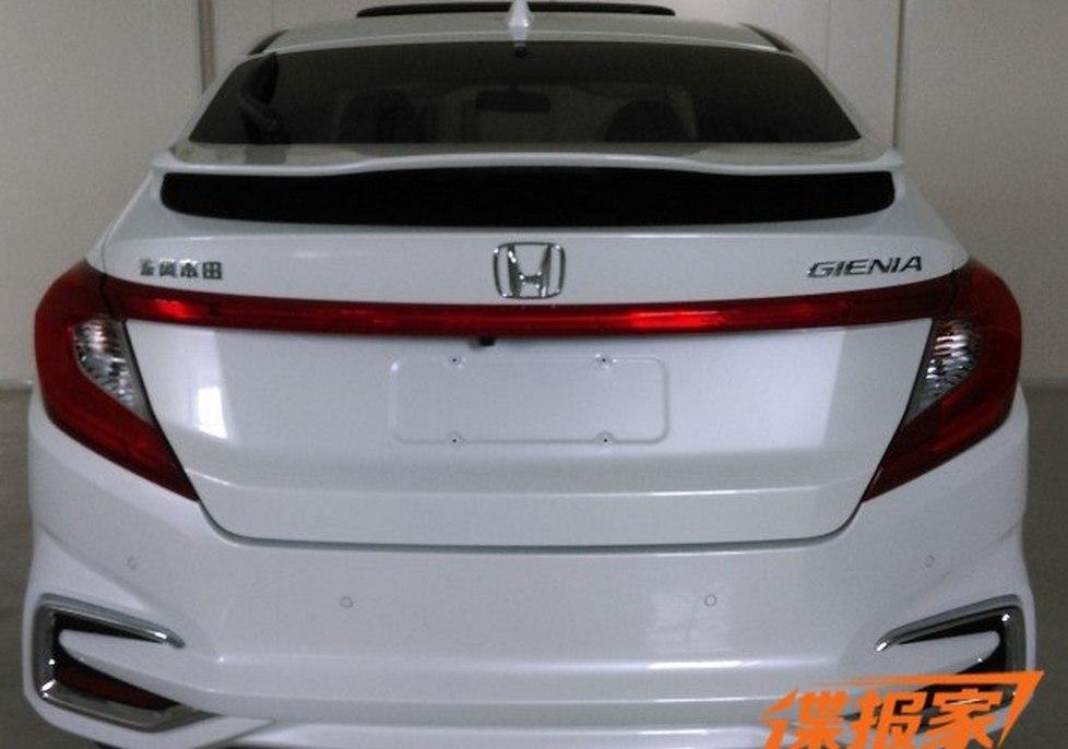 Шпионские фотографии нового хэтчбека Хонда Gienia появились во глобальной интернет-паутине