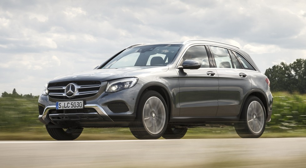 На фото: Mercedes-Benz GLC