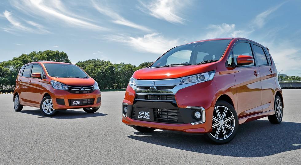 На фото: Mitsubishi eK