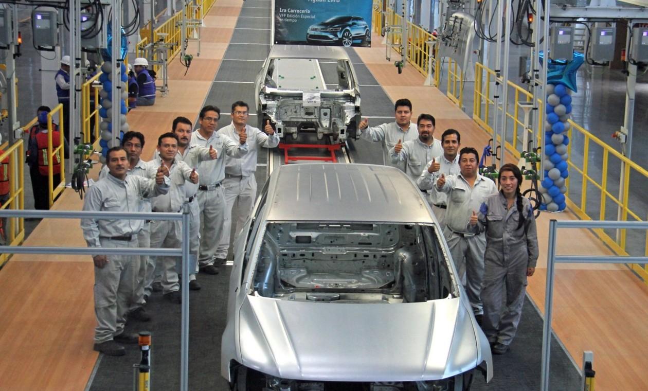 15ИюнVolkswagen выпустил первый кузов удлиненного Tiguan