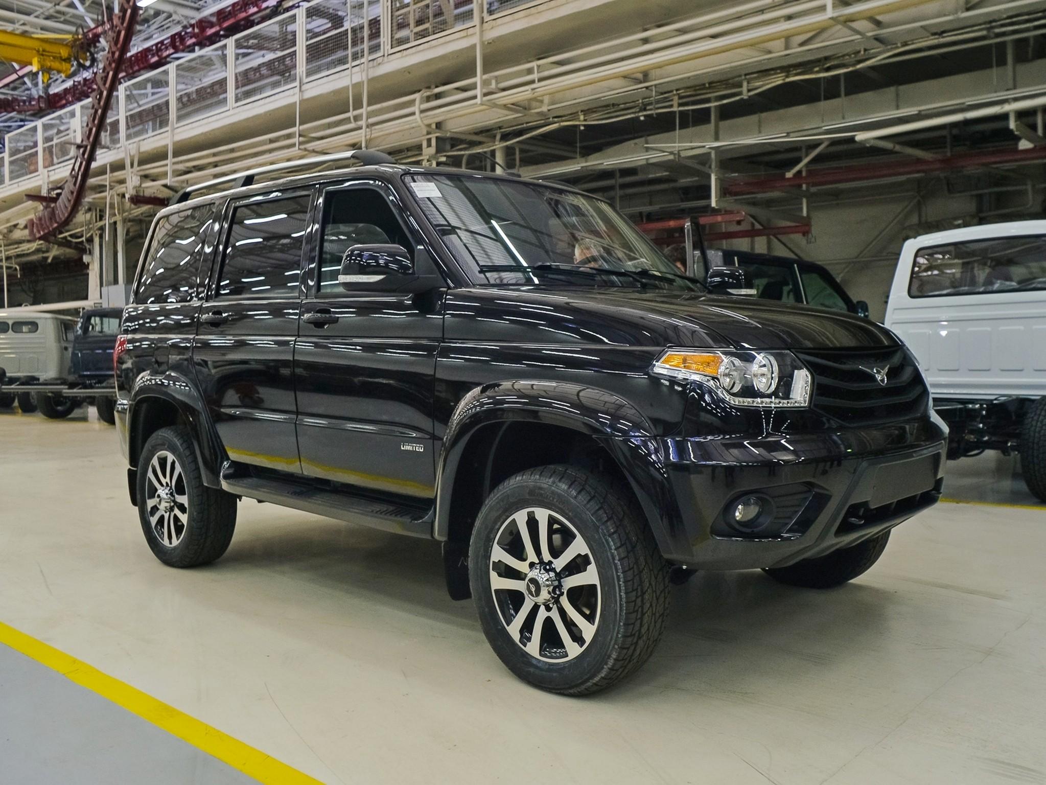 Цена уаз патриот 2017 модельного года в новом кузове