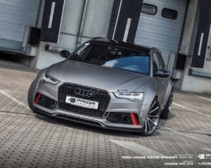������������� ��������: Audi A6 � RS6 Avant �� ������ Prior-Design