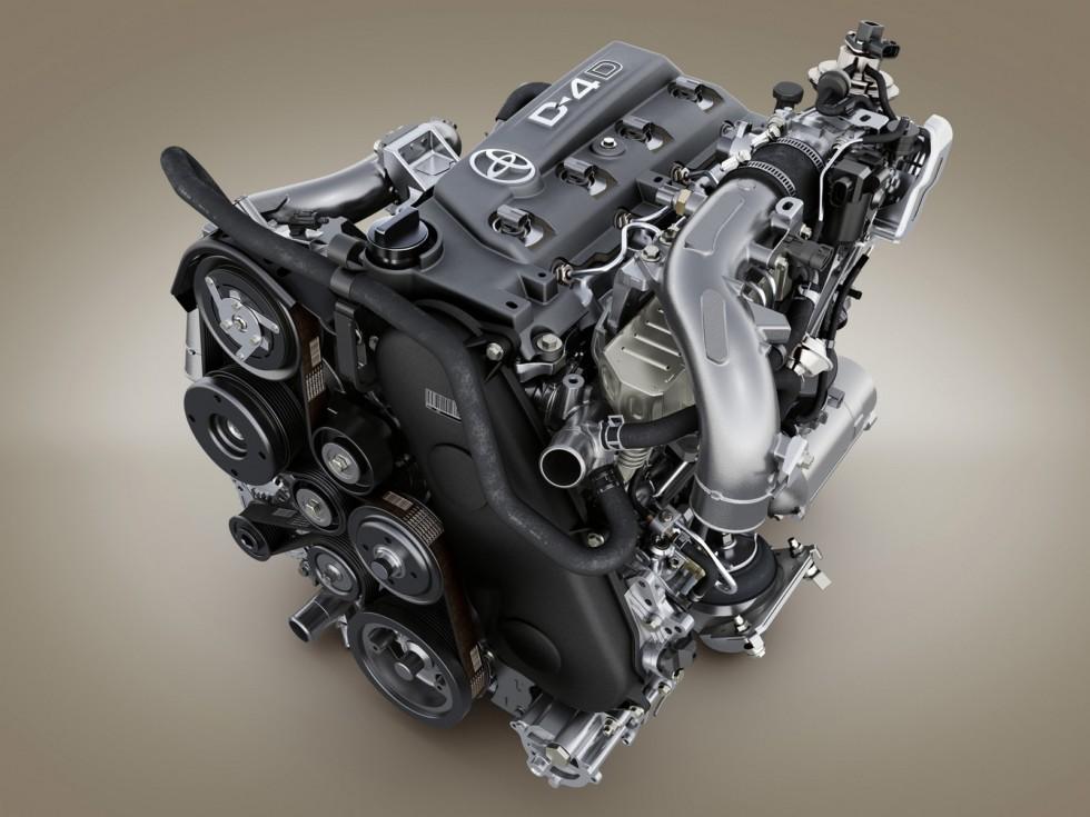 На фото: Двигатель Toyota 1KD-FTV