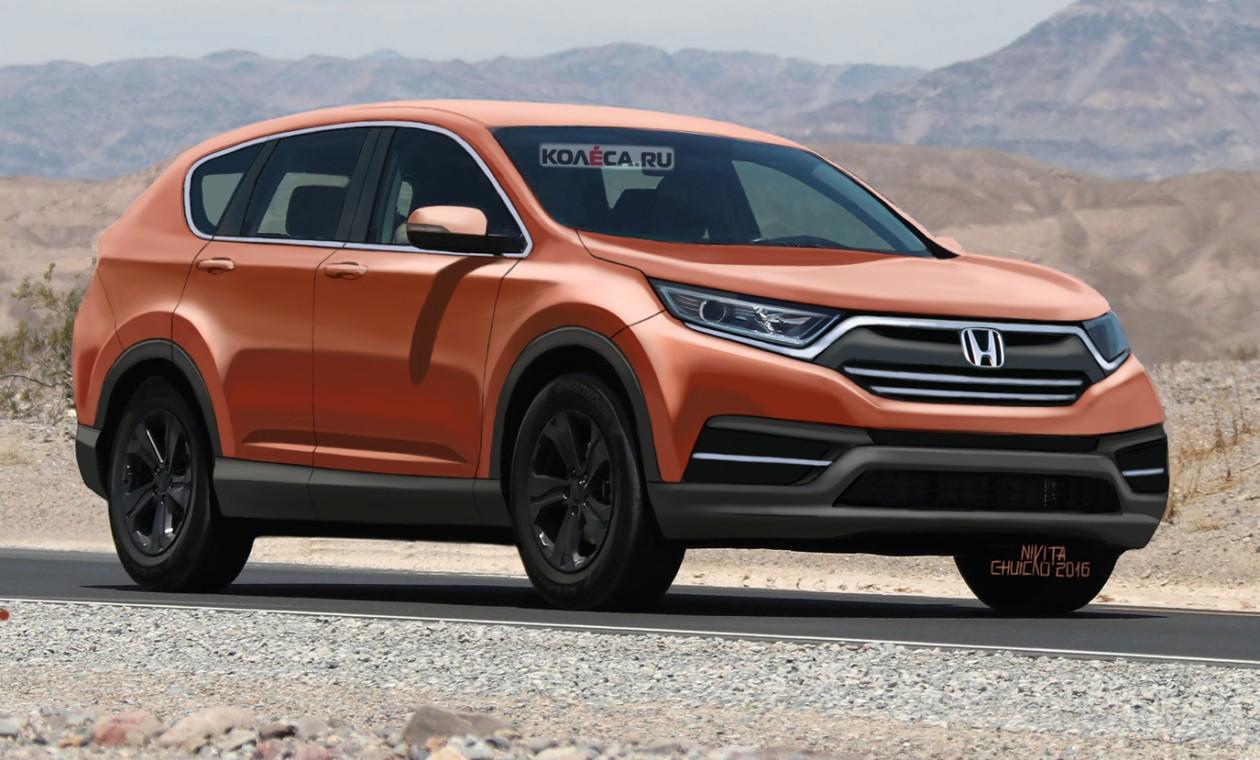 22ИюлПервые изображения Honda CR-V нового поколения