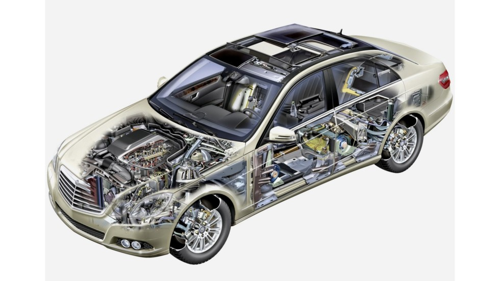 На фото: Mercedes-Benz E 220 CDI (W212) '2009–12