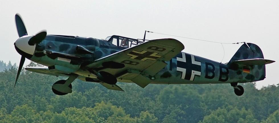 На фото: Messerschmidt Bf-109