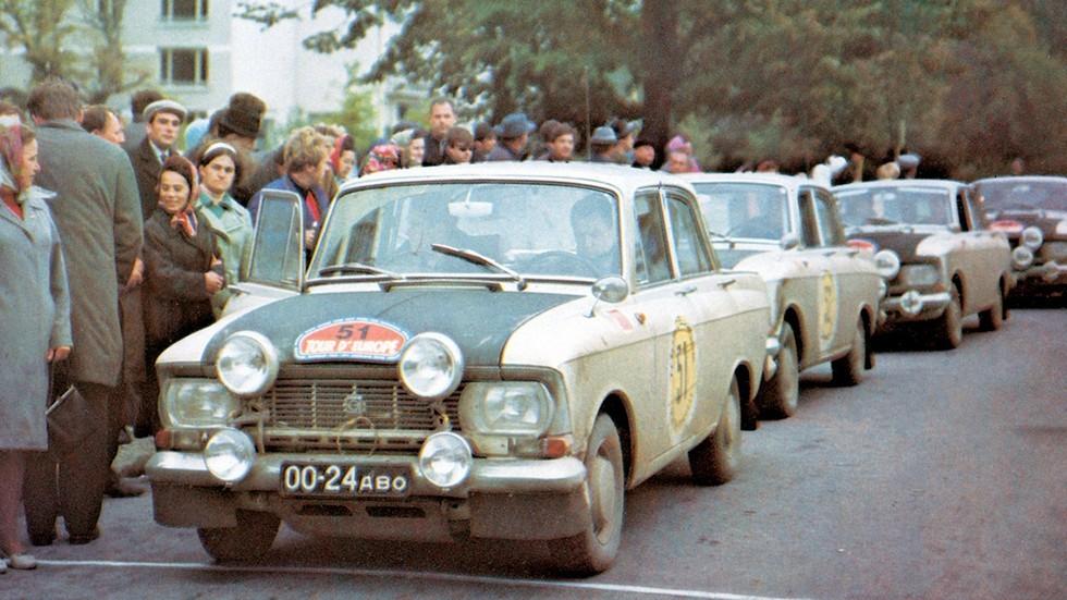 Cпортивный тюнинг 1960-х: подготовка к ралли Москвичей и Волг
