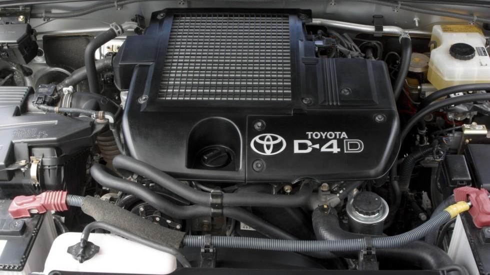На фото: Под капотом Toyota Land Cruiser Prado 5-door (J120W) '2002–07