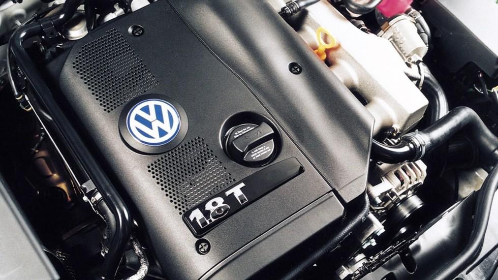 На фото: двигатель Volkswagen Passat 1.8T Sedan ZA-spec (B5+) '2000–05