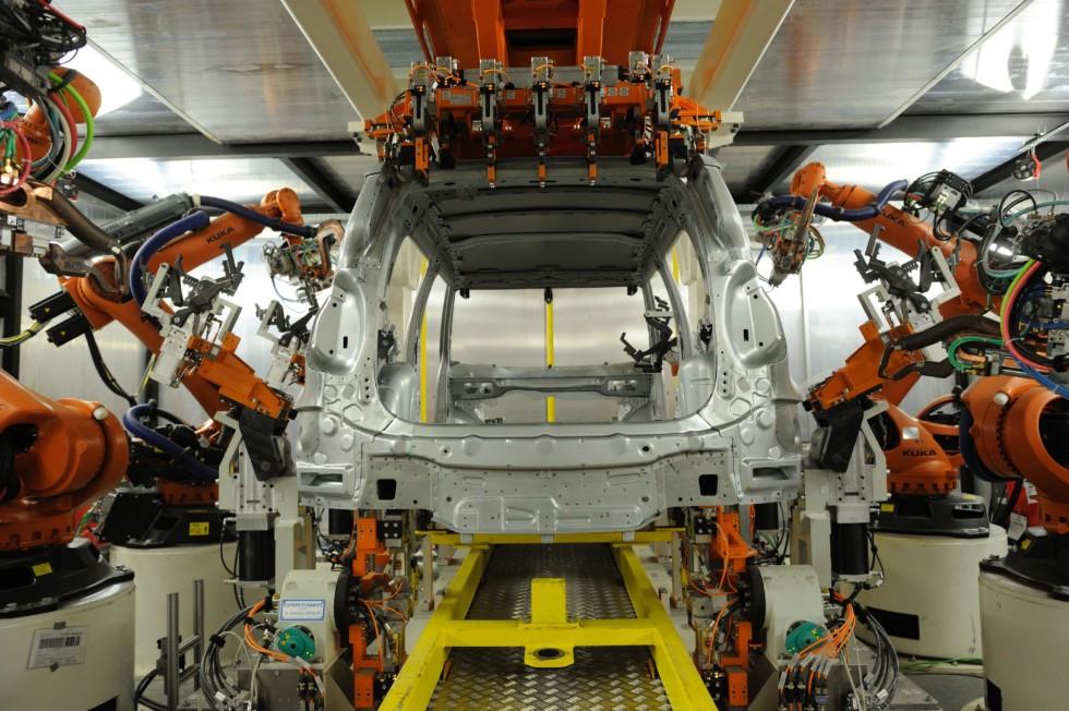 На фото: производство Volkswagen в Нижнем Новгороде