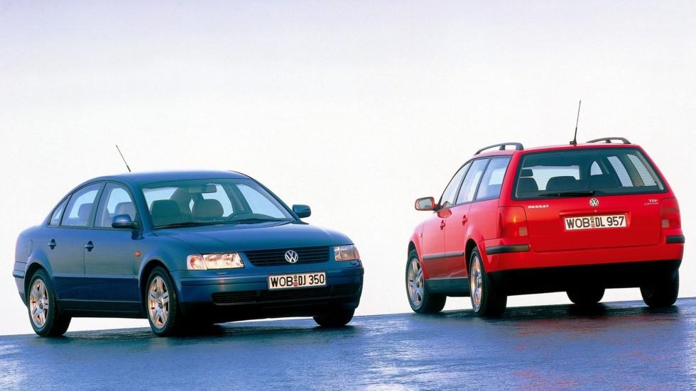 На фото: Volkswagen Passat (B5) '1996–2000