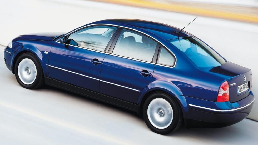 На фото: Volkswagen Passat Sedan (B5+) '2000–05