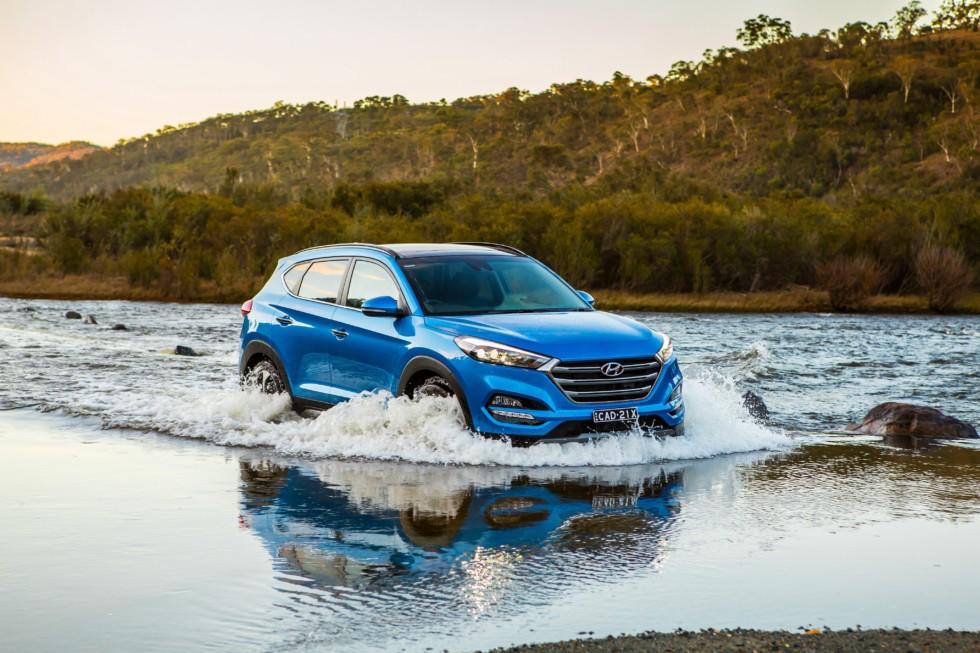 На фото: Hyundai Tucson