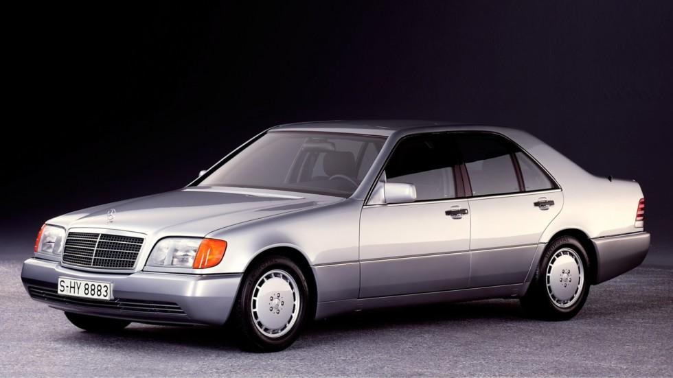 Mercedes W140 образца 1991 года