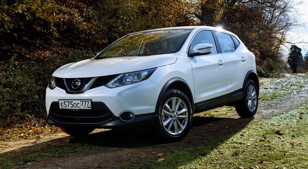 На фото: Nissan Qashqai