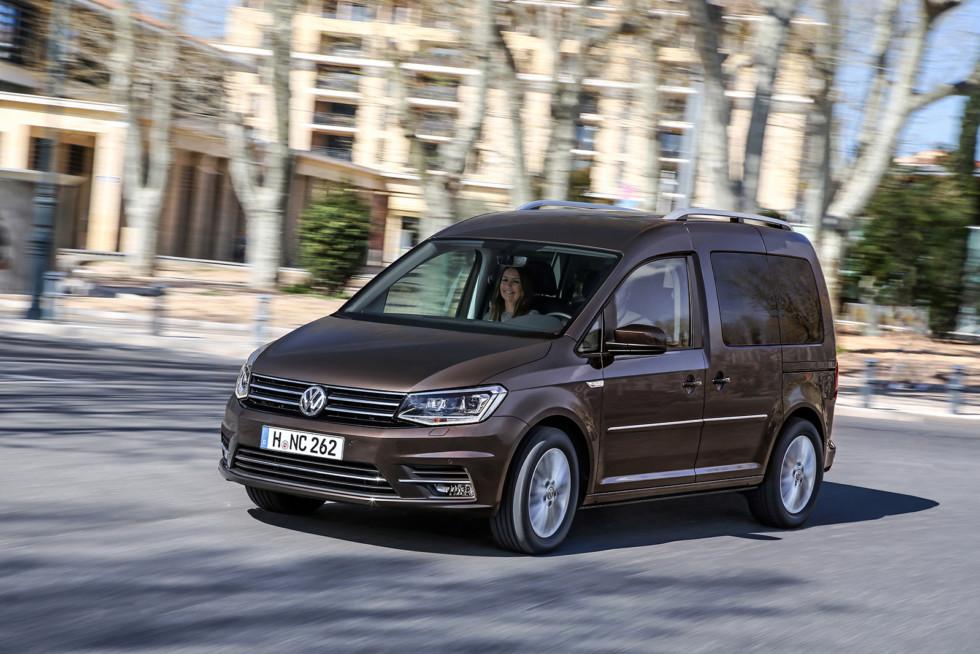 На фото: Volkswagen Caddy