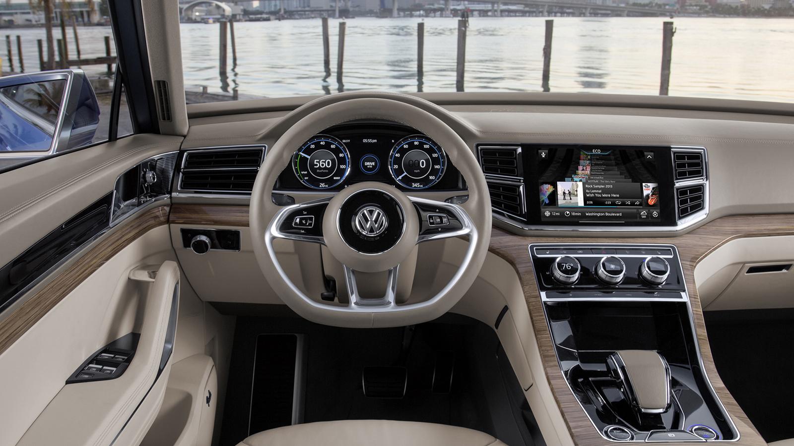 Volkswagen Teramont семиместный кроссовер Мир авто мото