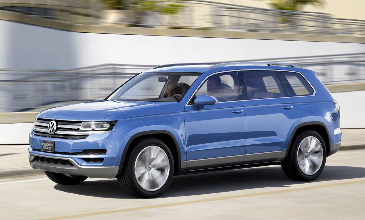 27ИюлСемиместный кроссовер Volkswagen получит имя Teramont