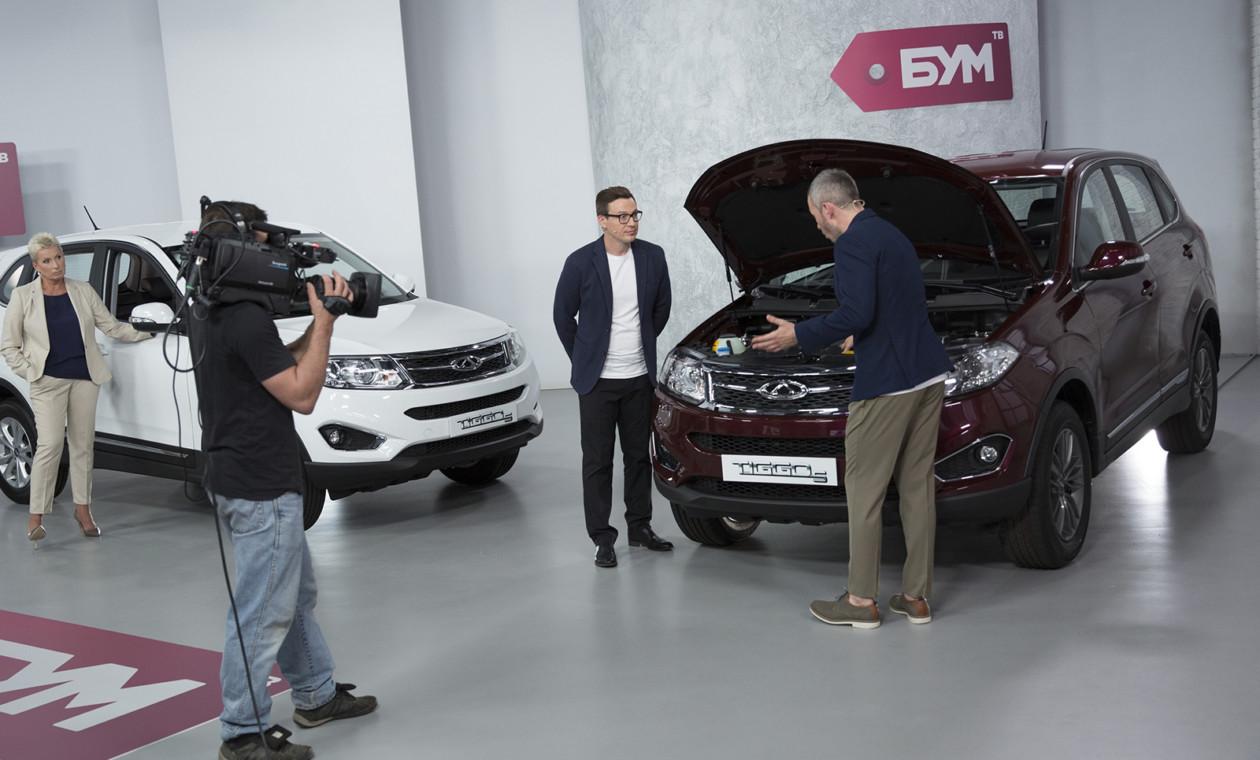 Чери начала торговать автомобили в Российской Федерации через телемагазин