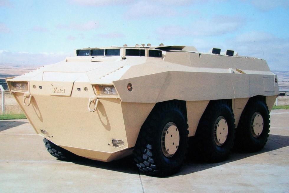 Трехосный модуль Pars 6х6 с двигателями мощностью 500–600 л.с.
