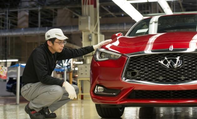 Компания Инфинити запустила производство купе Q60