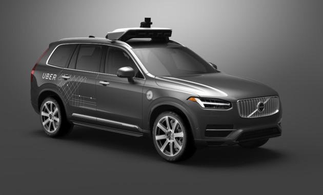 Вольво иUber вложат $300 млн вразработку беспилотного автомобиля