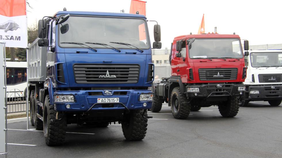 Русский рынок грузовых авто растёт четвёртый месяц кряду